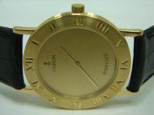 我想問手錶收購問題 我有一支CORUM崑崙 18K金錶 保單遺失了這樣你們收購嗎