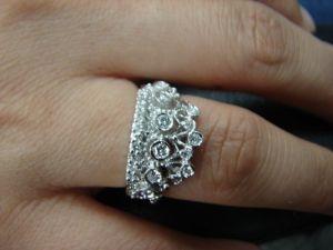 台中 流當品拍賣 造型 國王的鑽戒 皇冠 女鑽戒 喜歡價可議
