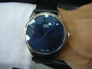 台中 流當品拍賣 ORIS 爵士限量錶 不鏽鋼 自動 9成9新 盒單齊全 喜歡價可議