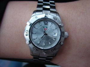 台中 流當品拍賣 原裝 TAG Heuer 豪雅 石英 女錶 9成5新 喜歡價可議