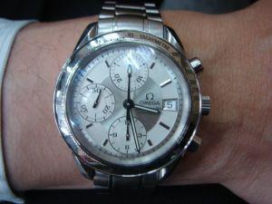台中 流當品拍賣 原裝 OMEGA 歐米茄 超霸 自動 計時 男錶