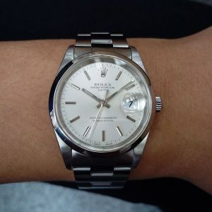 流當手錶 原裝 勞力士 15200 三板帶 自動 男錶 9成5新 喜歡價可議