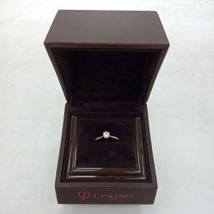 台中當鋪流當品拍賣 流當鑽石 日本 I-PRIMO 21分 8心8箭 Pt900 鉑金 女鑽戒 附盒 特價出清 KS018